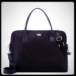 "Kate Spade Daveney 15"" Black Laptop Bag"